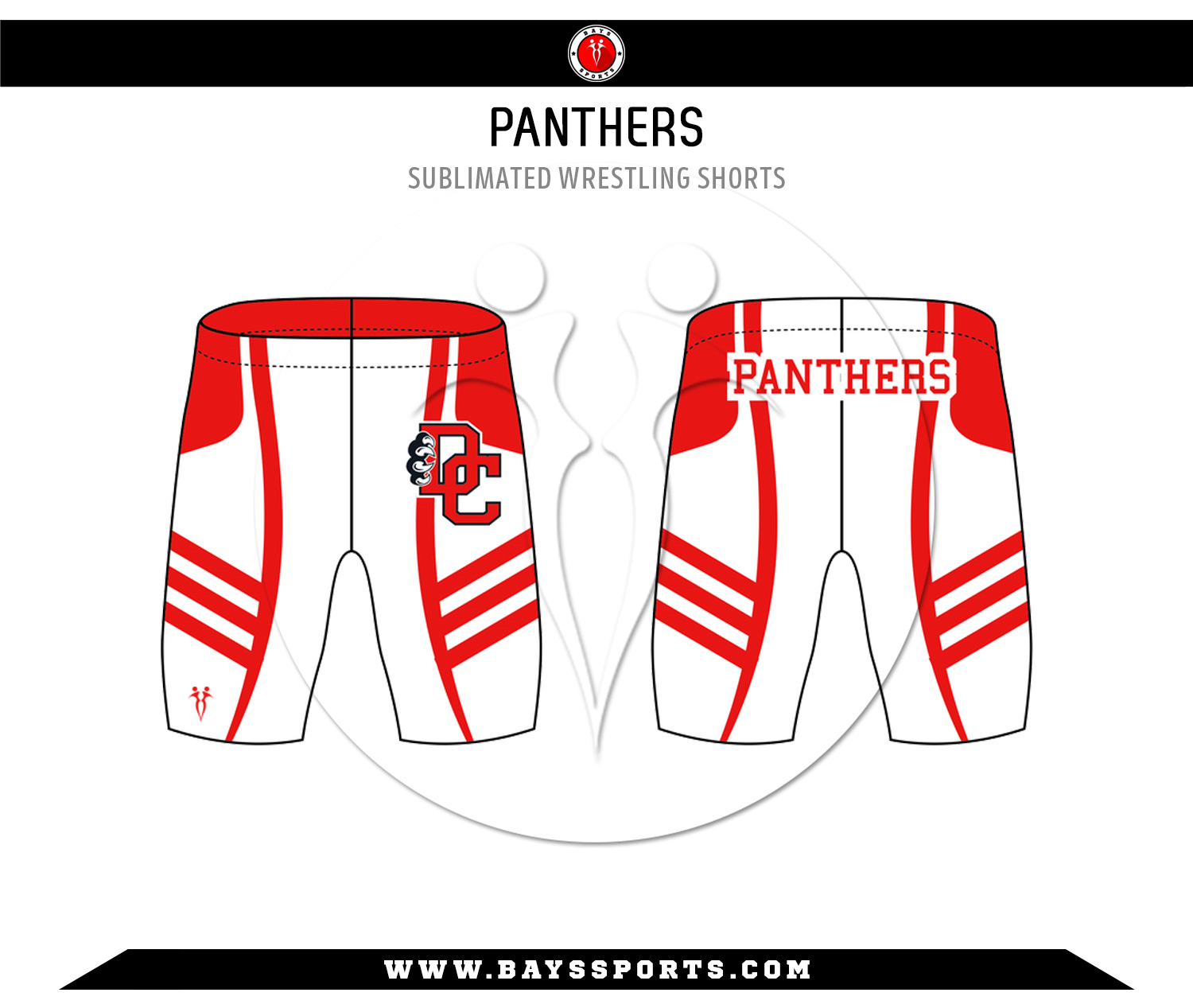 Sublimated Wrestling Shorts