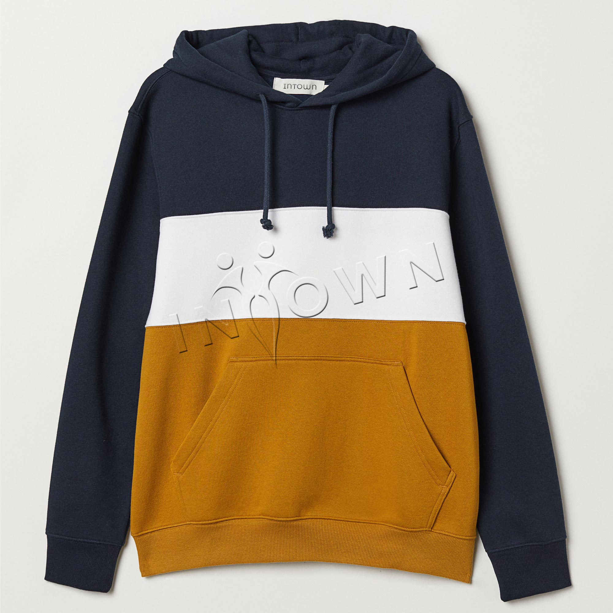Custom Color-block Hoodie