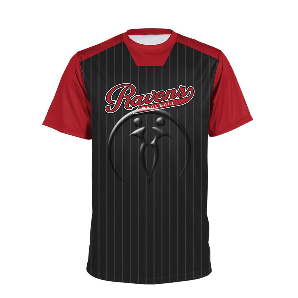 Crew Neck Short Sleeve Baseball Jerseys