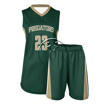 Women Full Basketball Uniform