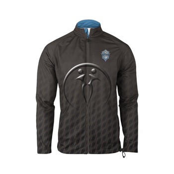 Custom Men Warm-Up Full-Zip Jacket