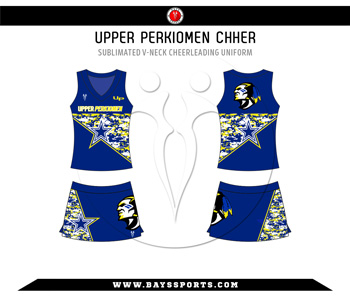 Sublimated V Neck Cheer Uniform