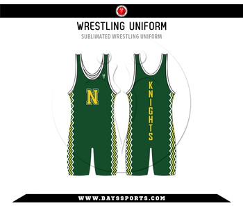 Sublimated Wrestling Uniform